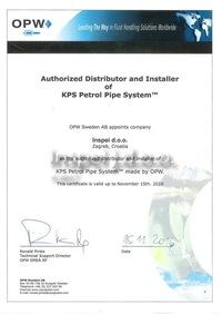 OPW Certifikat-mala